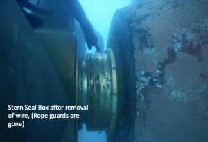 Seal ring housing severly damaged