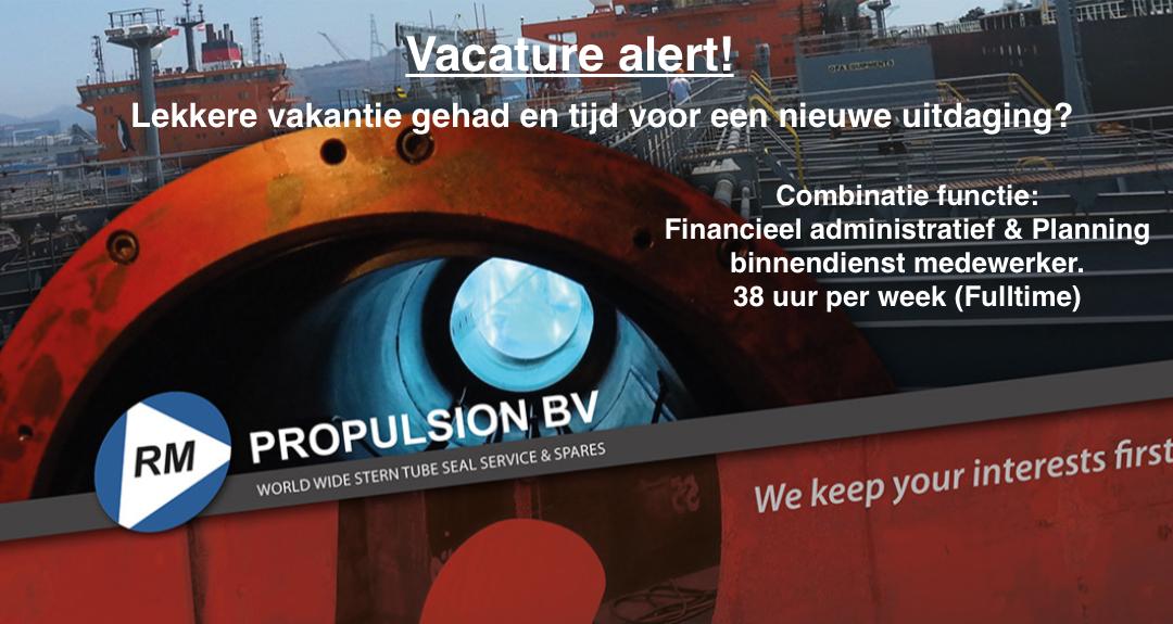 Vacature Alert! Financieel administratief / Planning binnendienst medewerker